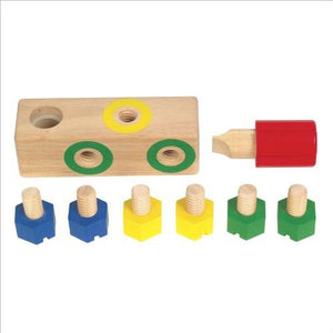 Guidecraft Screw Block Manipulative