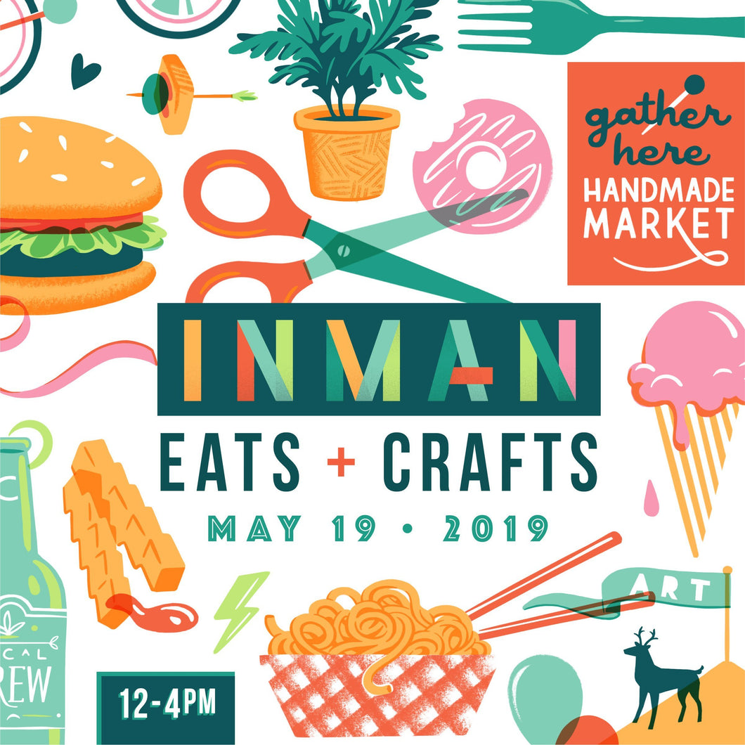 Inman Eats AND Crafts! 2019