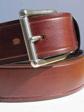 Load image into Gallery viewer, Gingerich Handcrafted USA Made Heavy Duty Work Belt 8017-36 Brown