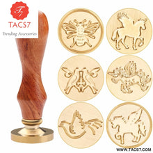 Load image into Gallery viewer, Handle Wedding Invitations Wax Seal Stamp Craft Wax Seal Stamp