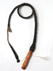 Kid's Genuine Leather Handcrafted Cowboy Bullwhip