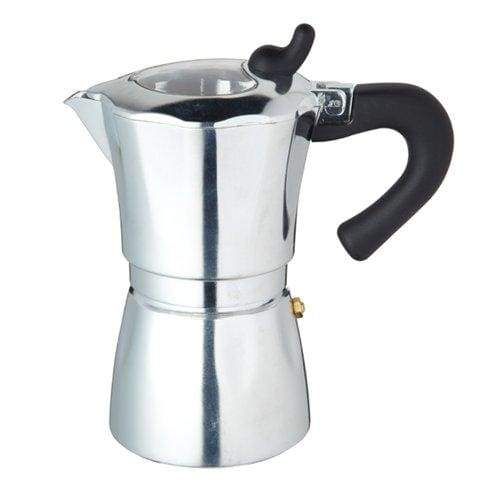 Kitchen Craft World Of Flavours Italian 300ml Six Cup Espresso Coffee Maker