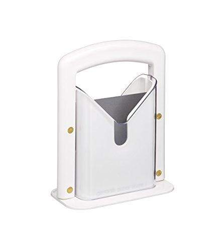 KitchenCraft Bagel Guillotine, White