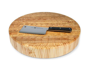 Larch Wood- Handcrafted Cutting Board Chef