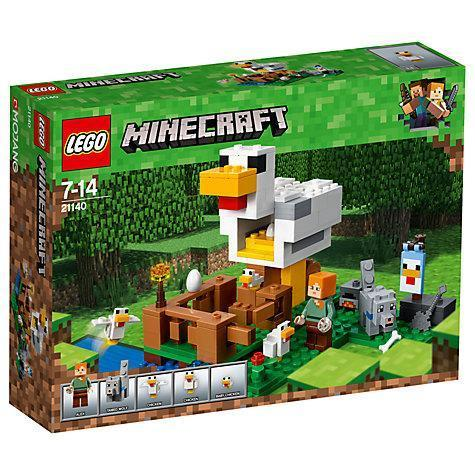 LEGO® Minecraft The Chicken Coop-21140