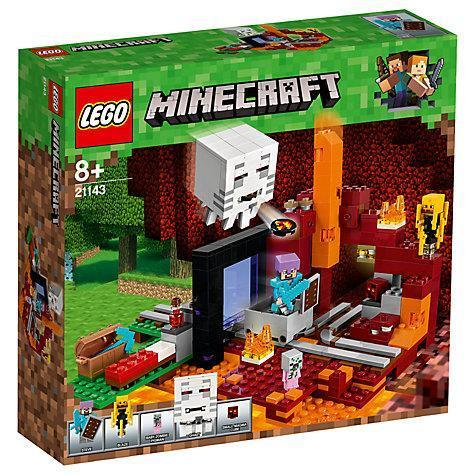 LEGO® Minecraft The Nether Portal-21143
