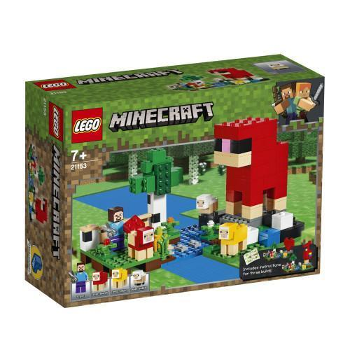 LEGO® Minecraft The Wool Farm-21153