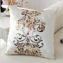 Load image into Gallery viewer, Luxurious Handcrafted Bronzing Cushion Cover