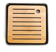 Load image into Gallery viewer, Japanese Bamboo Ceramics Tea Tray