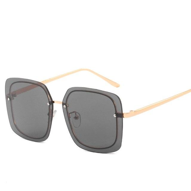 Hdcrafter Sunglasses Women Men Rimless 0000