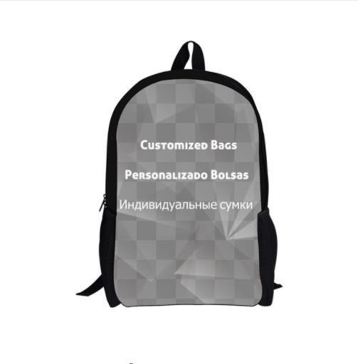 Gothic Moon Phase Backpacks For Teenage Boys Girls The Witching Hour Witchcraft Black Cat School Bags Kids Rucksack