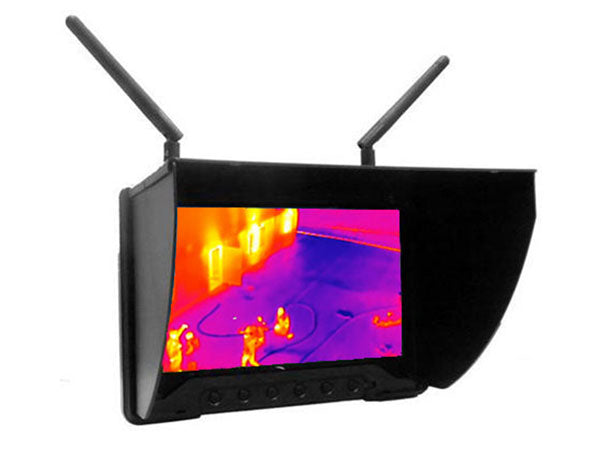 7 LCD Diversity Receiver for Thermal Viewing