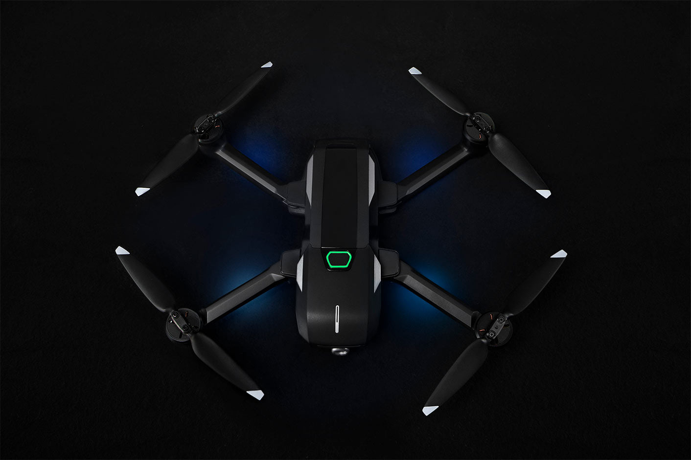 Yuneec MantisQ Foldable Travel Drone Top View