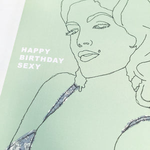 SEXY BIRTHDAY CARD