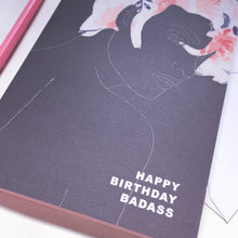 Load image into Gallery viewer, BADASS BIRTHDAY CARD