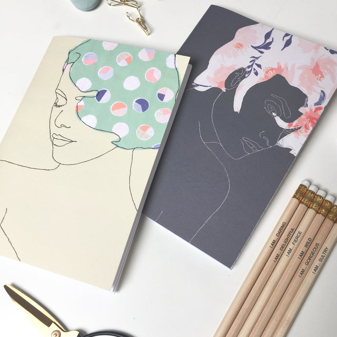 NOTEBOOK & PENCIL GIFT SET