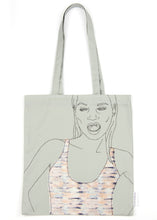 Load image into Gallery viewer, 'WILD' GREY TOTE BAG