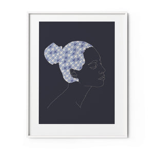 I AM... GORGEOUS FINE ART PRINT