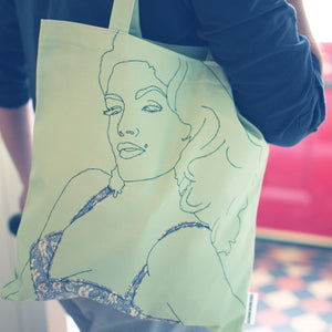 I AM… SULTRY TOTE BAG