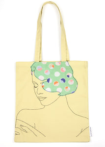 'DELIGHTFUL' YELLOW TOTE BAG  ***LAST ONE***