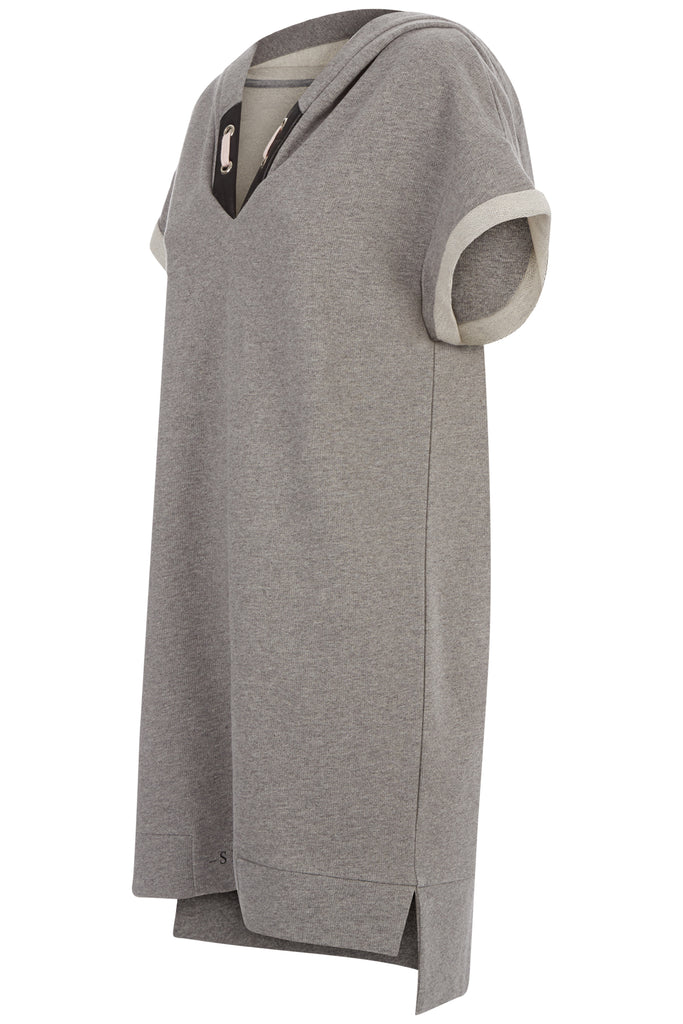 Chapter 1 Hoodie Dress Grey
