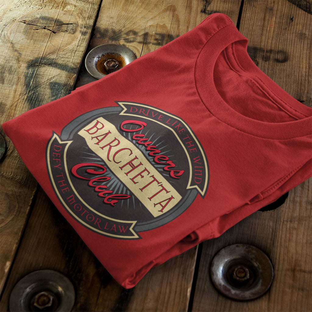 "Limited Edition ""Red"" Barchetta Owners Club T-Shirt"