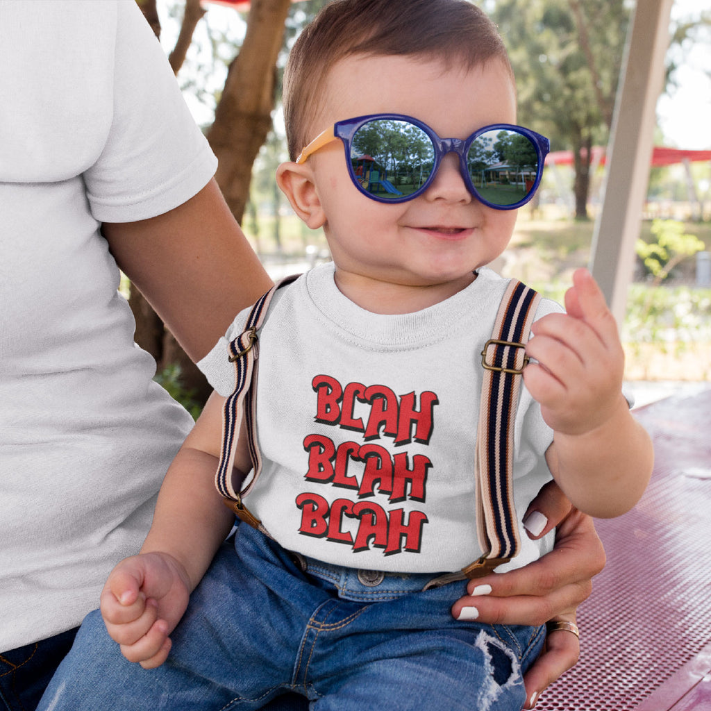 Blah Blah Blah - Toddlers T-Shirt (Ages 2-5)