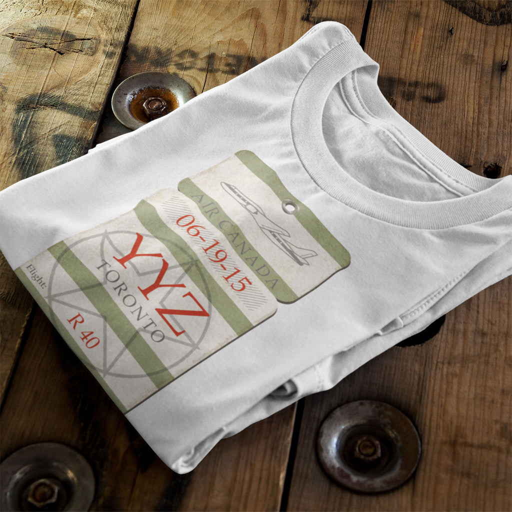 YYZ Airport Tag - Unisex T-Shirt