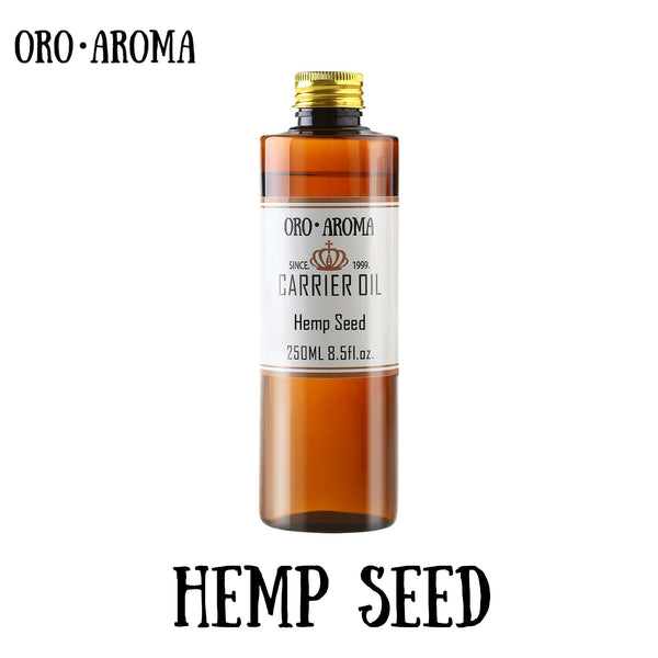 Famous brand oroaroma Hemp seed oil natural aromatherapy high-capacity skin body care massage spa Hemp seed essential oil