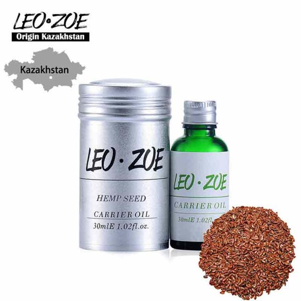Famous Brand LEOZOE Hemp Seed Oil Certificate Of Origin Kazakhstan Hemp Seed Essential Oil 30ML Carrier Oil