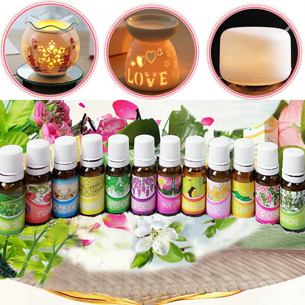 Vetiver Clove Jasmine Lavender Essential Oil Pack For Aromatherapy Massage Spa Bath 10ml Hemp Oil  Massage Oil Rose Eucalyptus