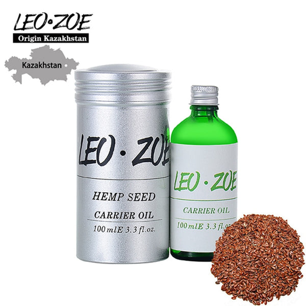 LEOZOE Hemp Seed Oil Certificate Of Origin Kazakhstan Hemp Seed Essential Oil 100ML Huile Essentielle Aceites Esenciales