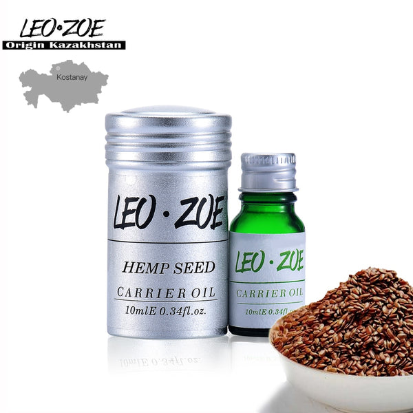 Pure Hemp Seed Oil Famous Brand LEOZOE Certificate Of Origin Kazakhstan Hemp Seed Essential Oil 10ML