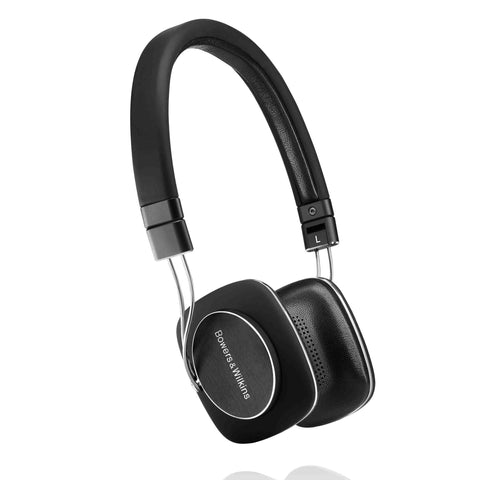 Bowers & Wilkins P3 S2 On Ear Headphones - Black