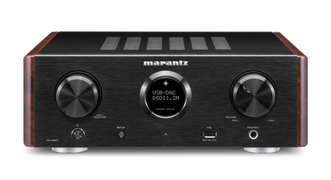 Marantz HD-AMP1 Integrated stereo Amplifier with USB-DAC - Black
