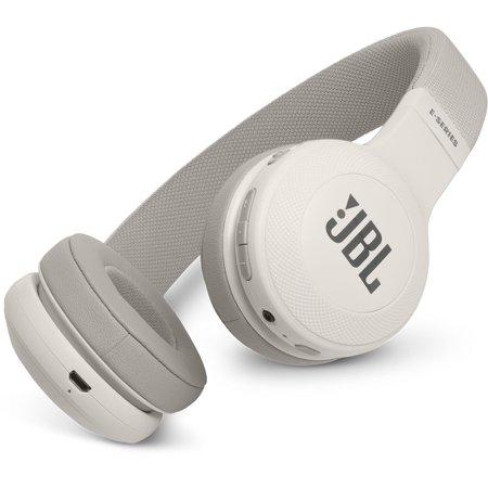 JBL E45BT Wireless On-Ear Headphones - White