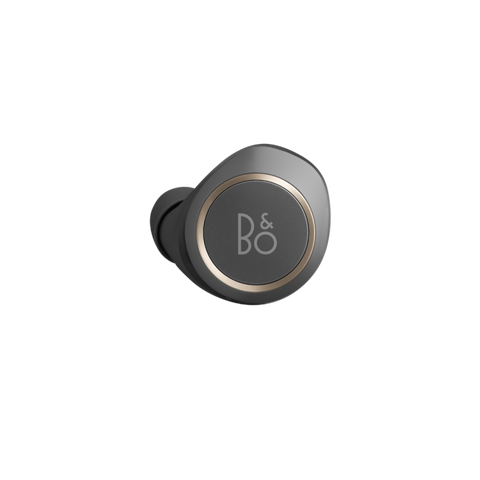 Bang & Olufsen BeoPlay E8 2.0 Bluetooth Earbuds - Charcaol Sand - Left Ear