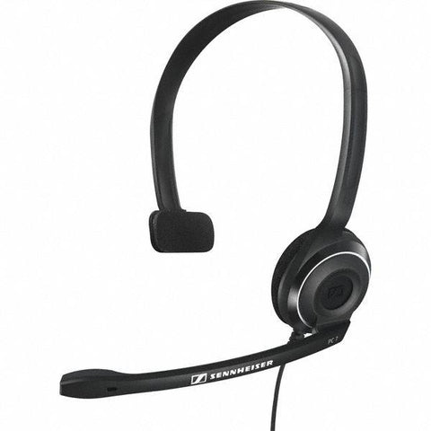 Sennheiser PC 7 USB Controller Over Ear Headphone - Black