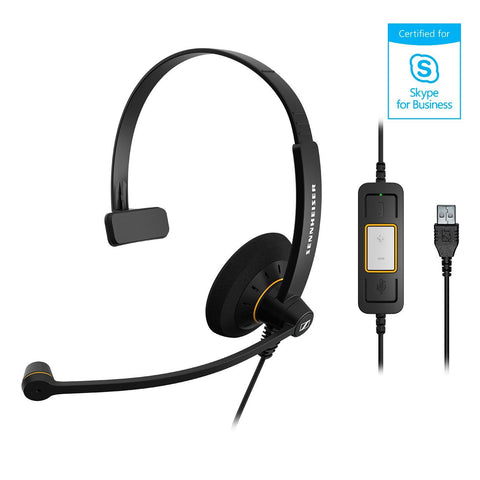 Sennheiser SC 30 USB ML - USB Office Headset - Noise Cancelling microphone