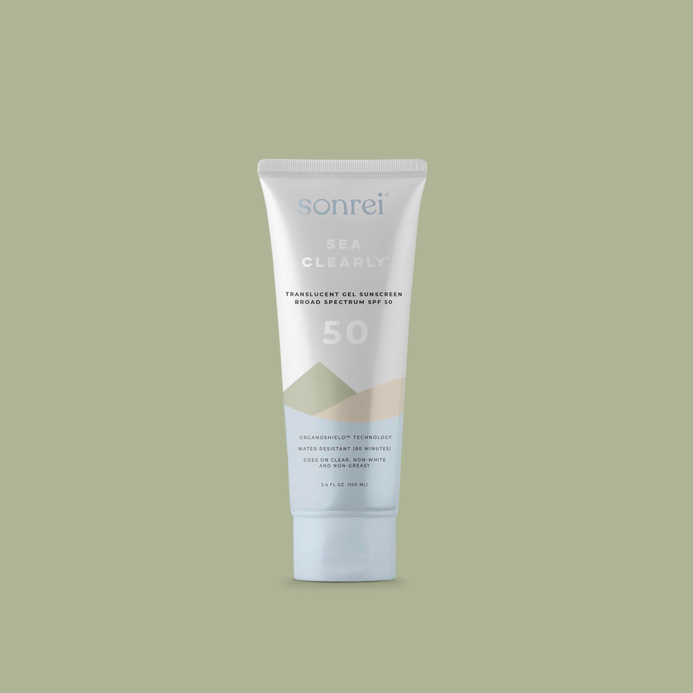 Sonrei Clear Gel Eco-Friendly Sunscreen SPF 50