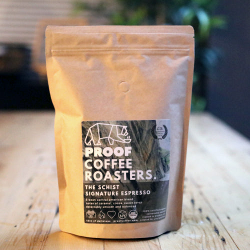 The Schist Espresso - Signature blend, 100% Certified Organic