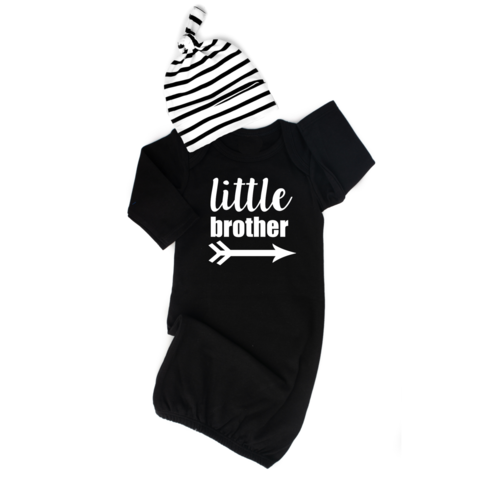 Little Brother NB Gown