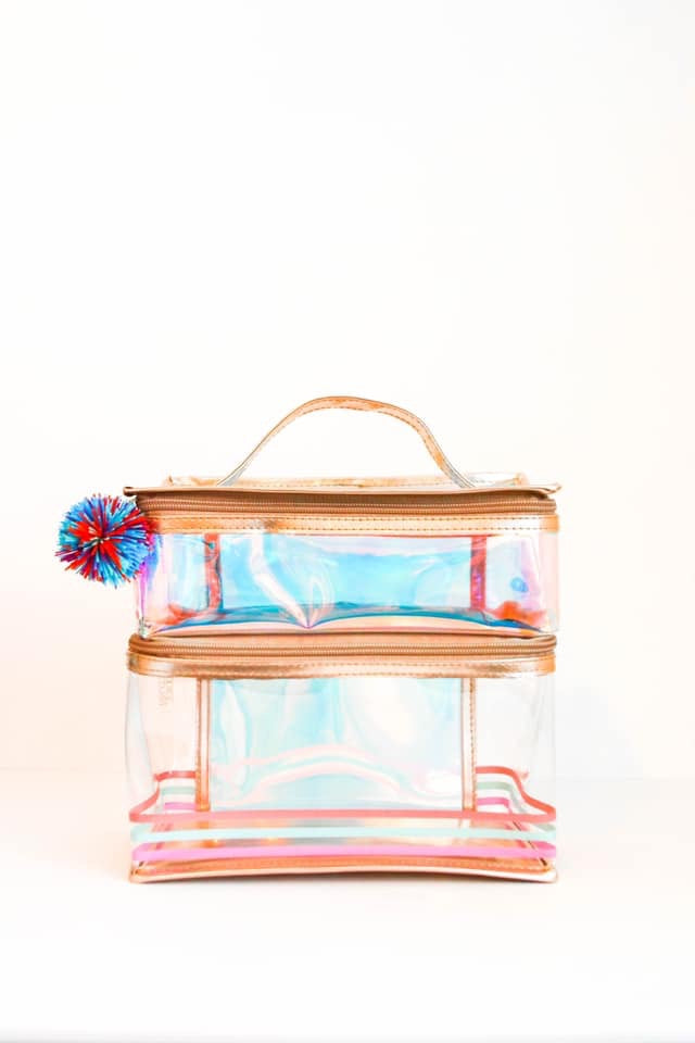 Lunch Box - Two Compartment (Rose Gold)