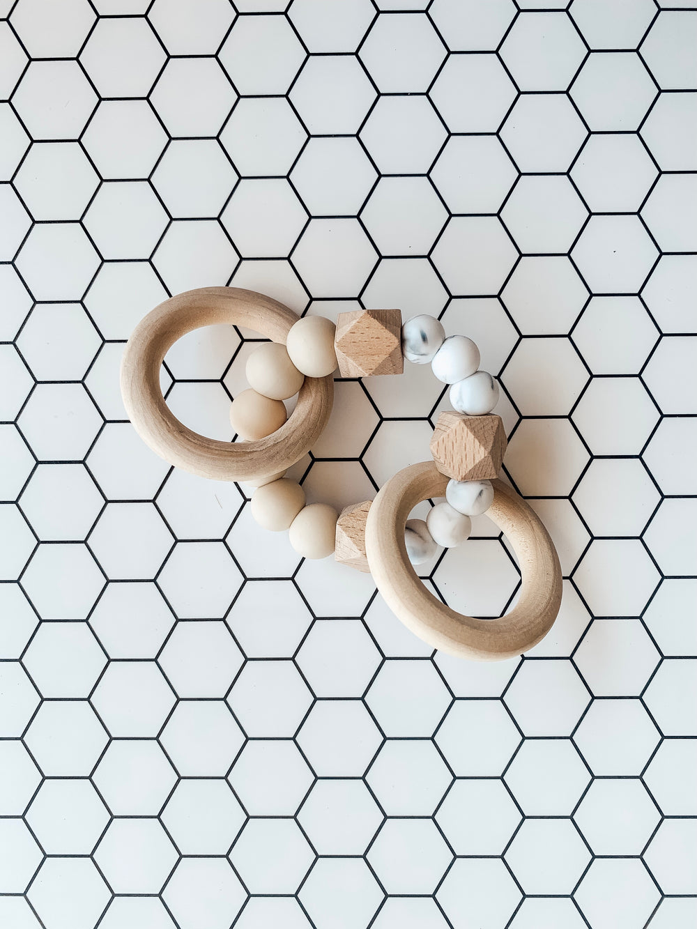 All Natural Teether- Natural/White