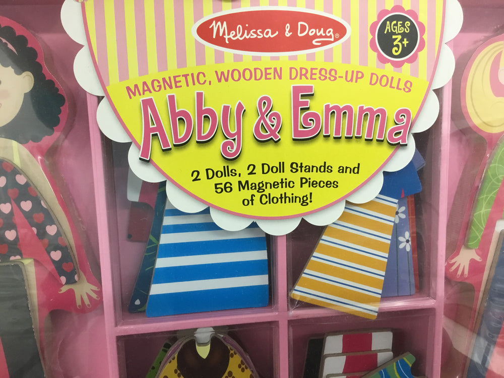Abby & Emma Magnetic Dress Up