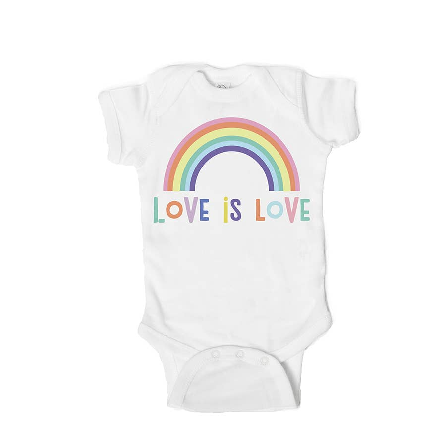 Love is Love Baby Bodysuit