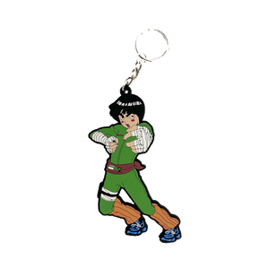 rock lee keychain