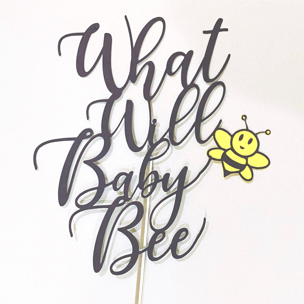 Baby Bee Cake Topper