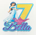 Princess Jasmine Cake Topper
