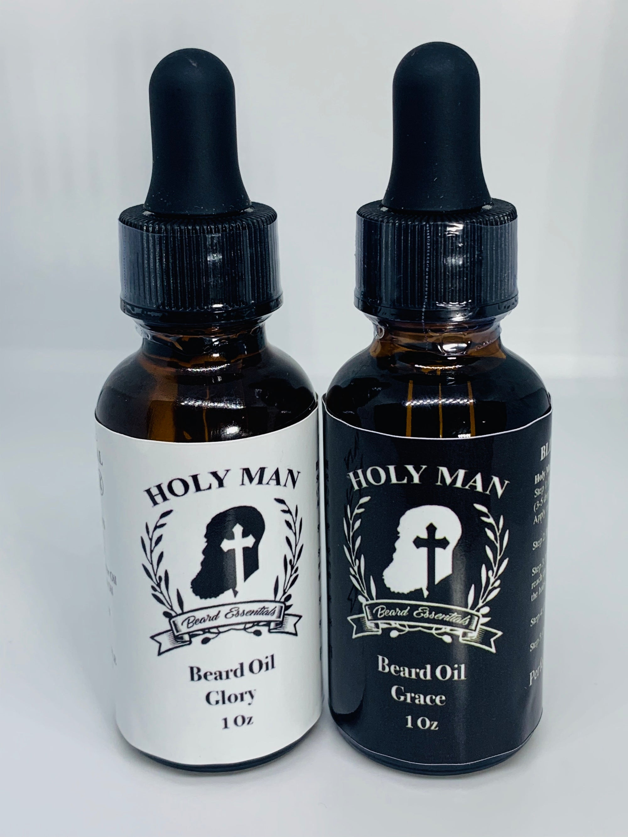 Holy Man Beard Grace and Glory Beard Oil Set